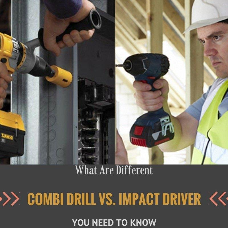 drill vs. impact driver