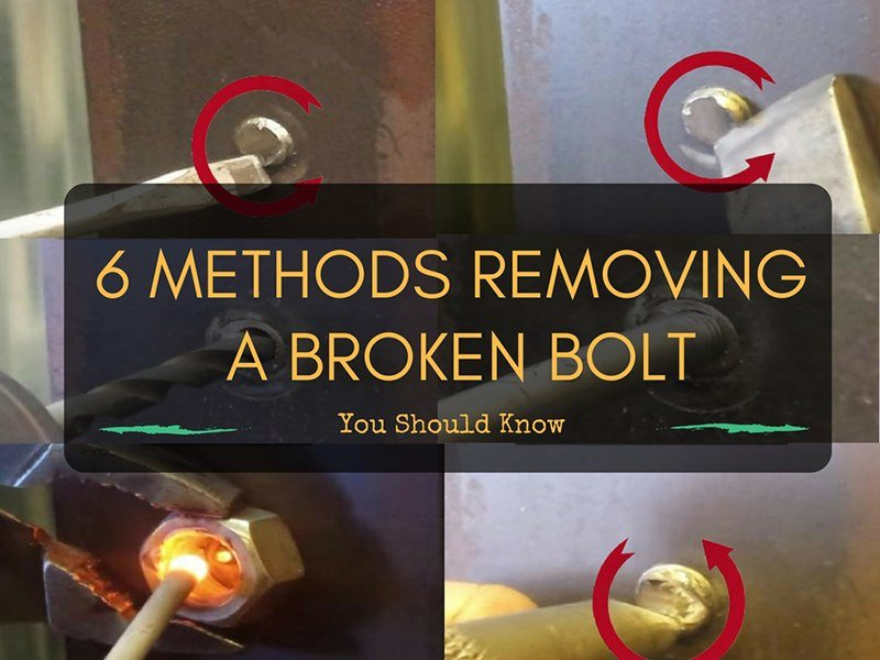 revoming broken bolt