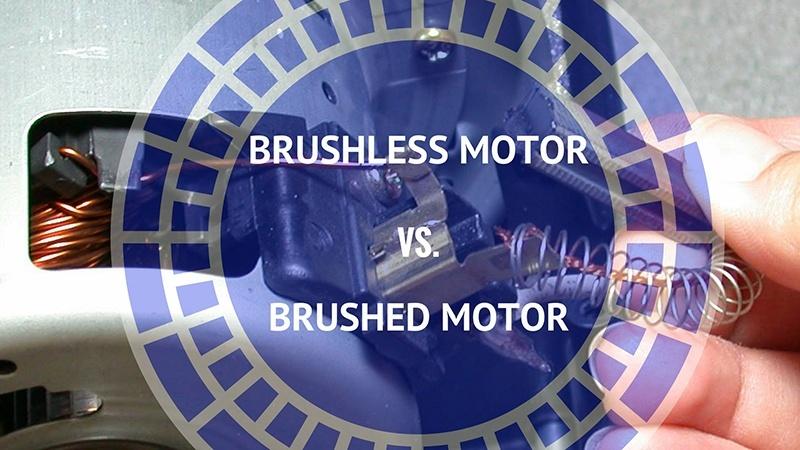 brushless vs. brushed motor
