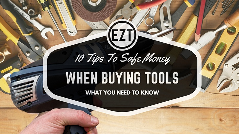 safe money when buying tool