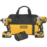 DEWALT DCK296M2 20V  Hammerdrill and Impact Driver Combo Kit Review