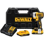 "Dewalt DCF887 20v 0.25"" impact driver with 3-speed control"