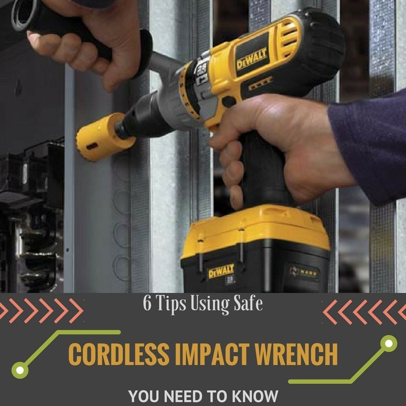 using safe tips for cordless impact wrench