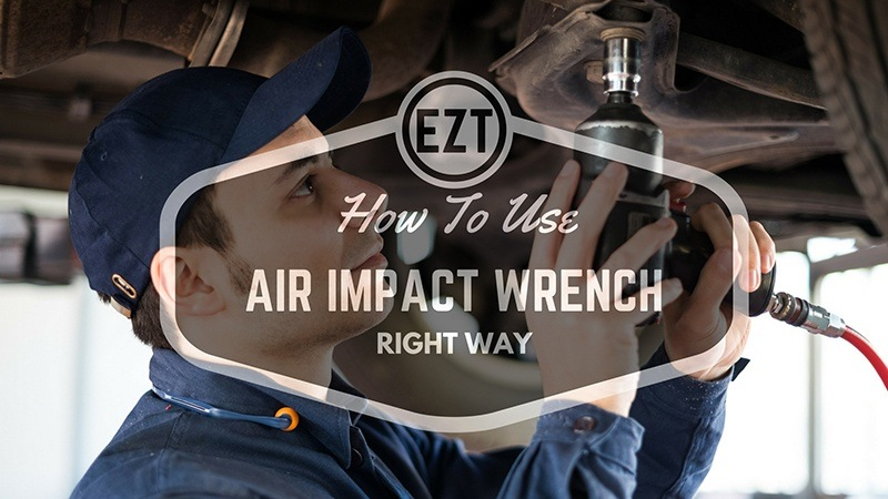 how to use air impact wrench