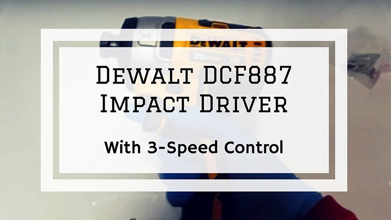 dcf 887 impact driver