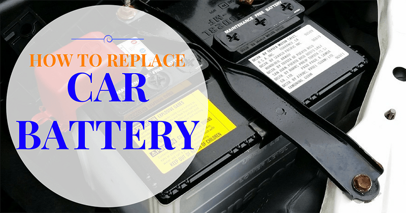 how to replace car battery