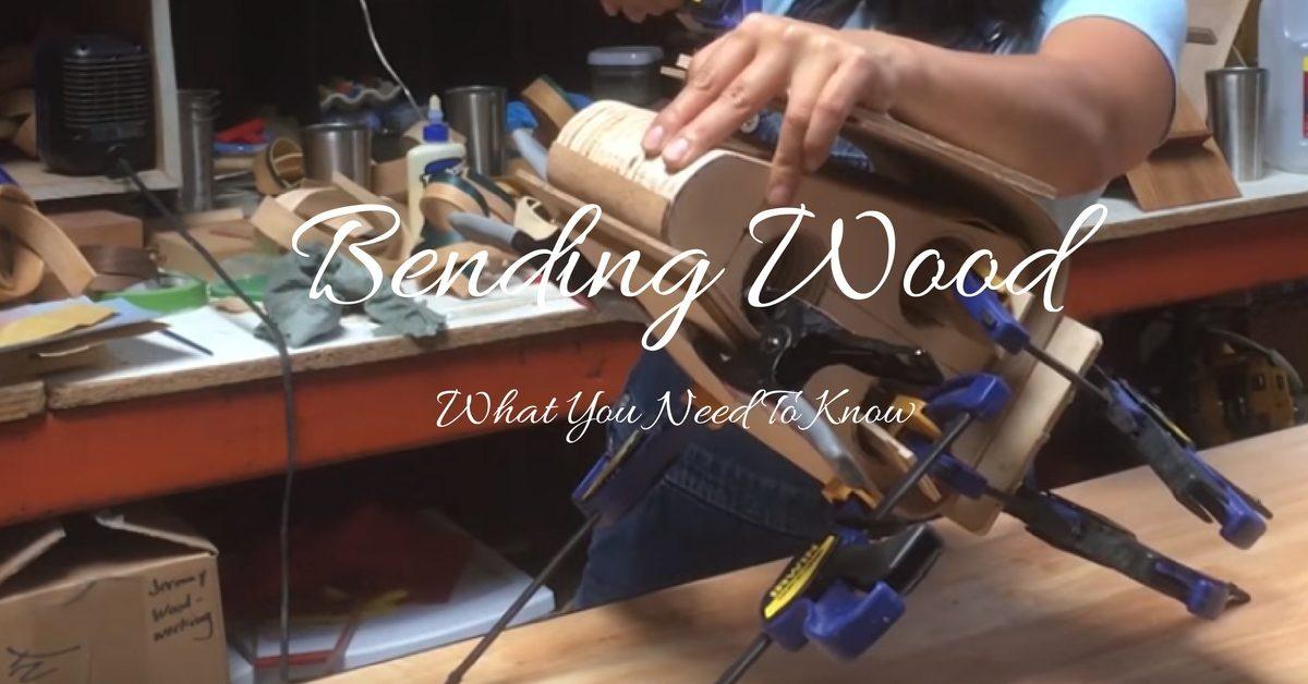 how to bend wood with water